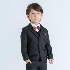 テーラードジャケット(110-130cm)【オケージョン・フォーマル・セットアップ】(ブラック)