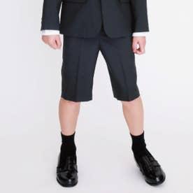 ハーフパンツ(110-130cm)【オケージョン・フォーマル・セットアップ】(ブラック)