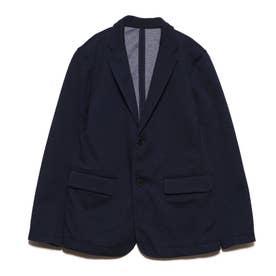 デニム風 ポンチジャケット(140-160cm)【オケージョン・フォーマル・セットアップ】(ネイビー)