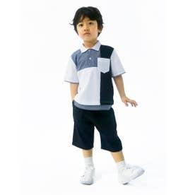 デザイン ポロシャツ (ホワイト)