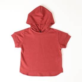 フード付きTシャツ (レッド)