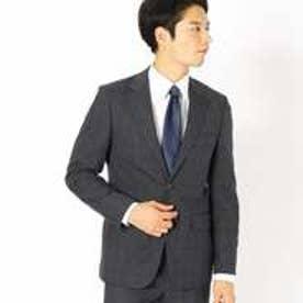 《セットアップ》グレンチェック スーツジャケット (グレー)
