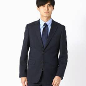 《セットアップ》 ピンストライプ スーツジャケット (ネイビー)