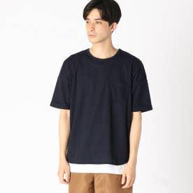 【セットアイテム】 Tシャツ×タンクトップセット (ネイビー)