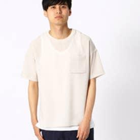ビッグTシャツ (ベージュ)