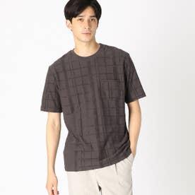 パイル Tシャツ (チャコール)
