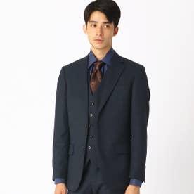 《セットアップ》 デニムミルドストレッチ   スーツジャケット (ダークネイビー)