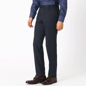《セットアップ》 ウールギャバ スーツパンツ (ダークネイビー)
