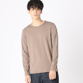クルーネックTシャツ (ベージュ)