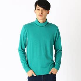 タートルネックTシャツ (グリーン)