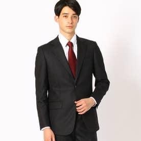 シャドーストライプレギュラーモデル スーツ (ブラック)