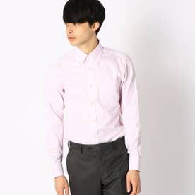 《イージーケア・抗菌防臭加工》 オックス ボタンダウンカラーシャツ (ピンク)