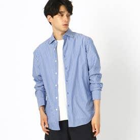 ストライプシャツ (ブルー)