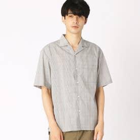 オープンカラーシャツ (グレー)