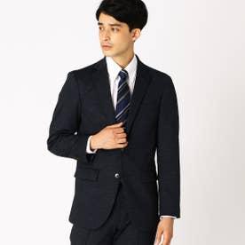 【セットアップ】 ジャージージャケット (ネイビー)