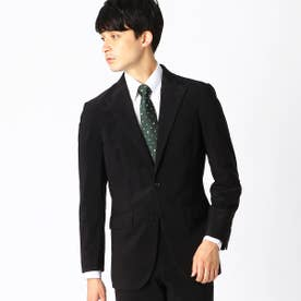 【ウォッシャブル・セットアップ】コーデュロイ セットアップ ジャケット (ブラック)