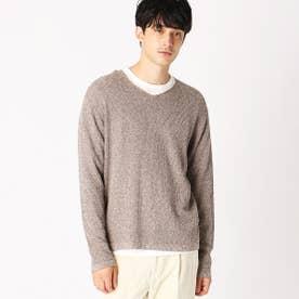 Tシャツ&プルオーバー セットアイテム (ブラウン)