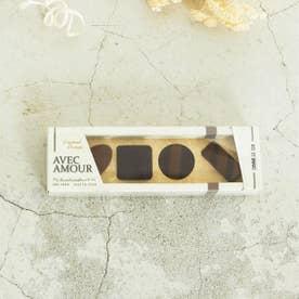 【プチギフトにおすすめ】 チョコレートアンクルソックス (ダークブラウン)