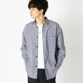 オーバーサイズシャツ (大ギンガム)