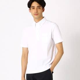 ボタンダウンポロシャツ (ホワイト)