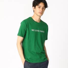 プリントTシャツ (グリーン)