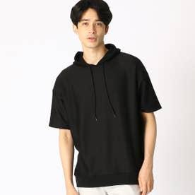フードTシャツ (ブラック)