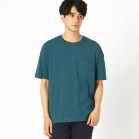 日本の伝統色(R) コラボTシャツ (ターコイズ)