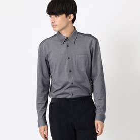 <抗菌加工> ジャージーシャツ (サックス)