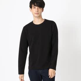 抗菌・防臭クルーネックTシャツ (ブラック)