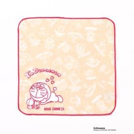 〔モノコムサ〕 ハンカチタオル〈I'm doraemon〉 (ピンク)