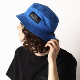 〔モノコムサ〕 〈ユニセックス〉カラフル バケットハット (ブルー)