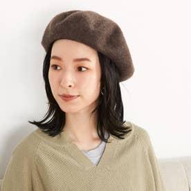 【一部店舗限定】 バスクベレー帽 (ブラウン)