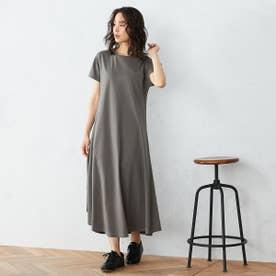 Tシャツ ワンピース (カーキ)