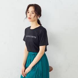 プリントTシャツ (ブラック)