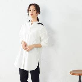 フード付きシャツ (ブラック)