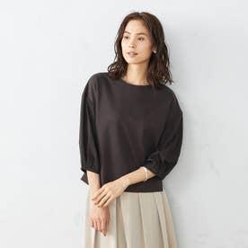 デザイン Tシャツ (ダークブラウン)