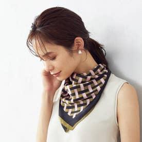 リング付きスカーフ (カーキ)