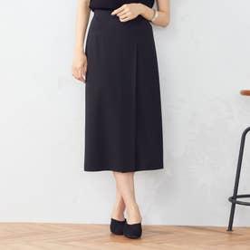 ポンチラップ風タイトスカート (ブラック)