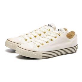 レディース スニーカー オールスター 40's GP ローカット ALL STAR OX ホワイト ベージュ ブラウン 靴 (ホワイト)