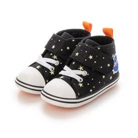 ジュニア スニーカー BABY ALL STAR N SPACEPATCH V-1 ブラック 373011220 (ブラック)