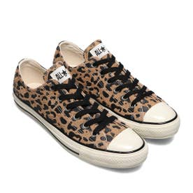 SUEDE ALL STAR US LEOPARD OX (BROWN)