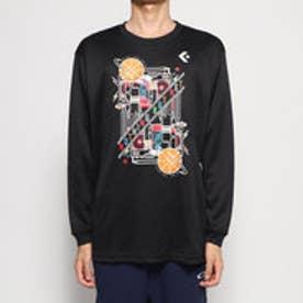 バスケットボール 長袖Tシャツ プリントロングスリーブシャツ CB292318L