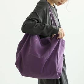 キャンバスビッグトート (Purple)