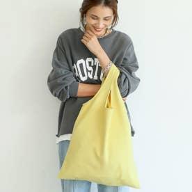 スウェードタッチバッグ (Yellow)