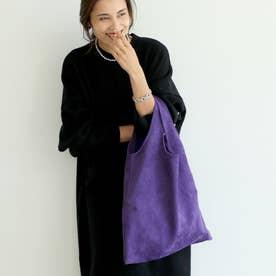スウェードタッチバッグ (Purple)