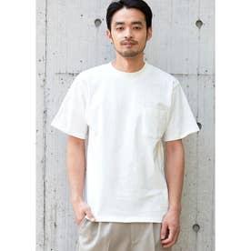 USAコットン胸ポケットTシャツ (White)