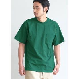 USAコットン胸ポケットTシャツ (Green)