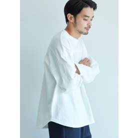 ヘビーウェイトテールカットフットボールTシャツ (White)