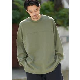 フットボールロングTシャツ (Khaki)
