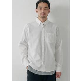 レギュラーフィットオックスシャツ (White)